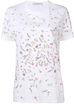 Ermanno Scervino floral embellished T-shirt