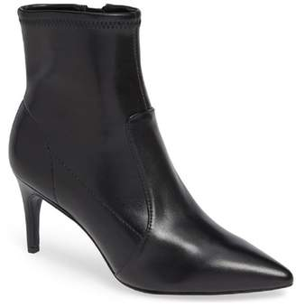 Charles David Pride Pointed Toe Leather Bootie