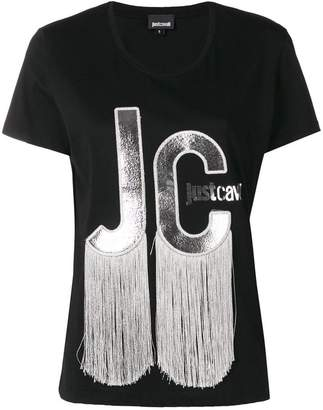 Just Cavalli tassel logo T-shirt