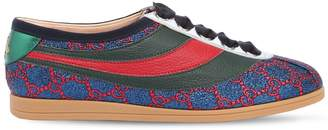 Gucci 10mm Falacer Gg Lurex Sneakers