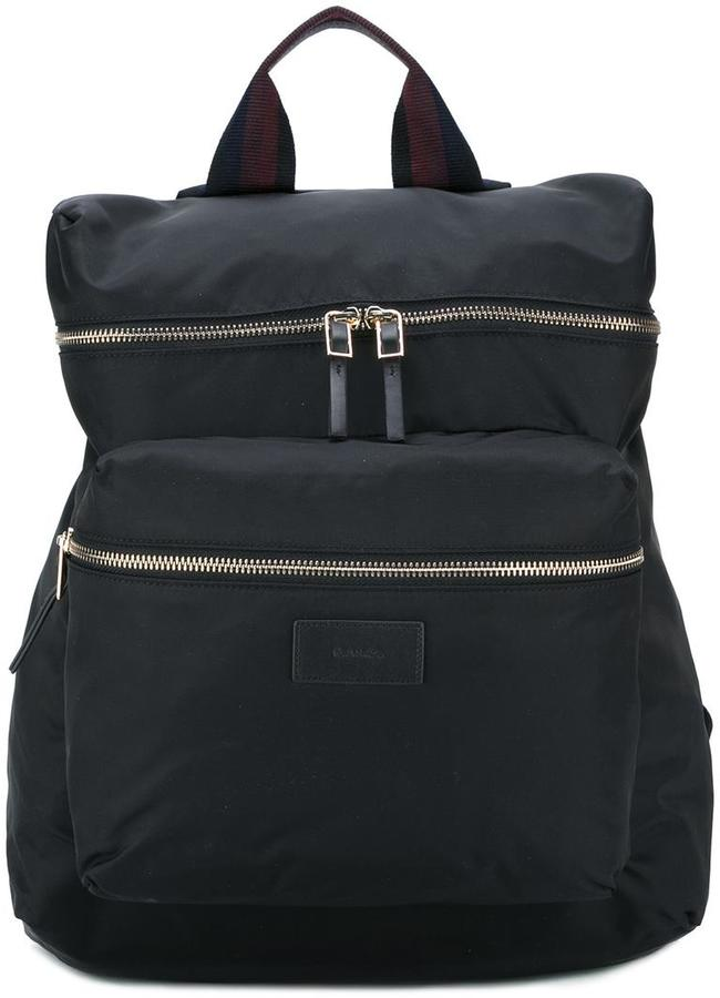 Paul SmithPaul Smith striped handle backpack