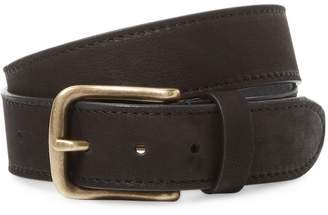 Berge Men's Distressed Belt with Buckle
