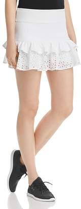 Kate Spade Tiered Eyelet Ruffle Skirt