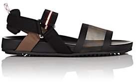 Fendi Women's Zucca Logo Mesh Sandals - Black