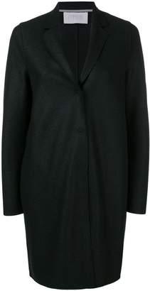 Harris Wharf London fitted single-breasted coat