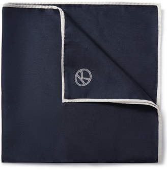 Drakes Kingsman - Drake's Silk Pocket Square