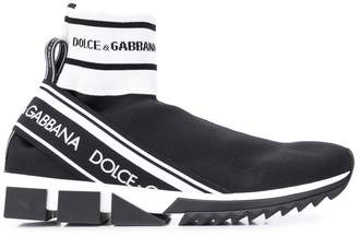 Dolce & Gabbana logo band sneakers