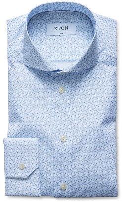 Eton of Sweden Mini Dandelion Slim Fit Dress Shirt $285 thestylecure.com
