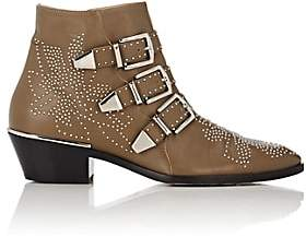 Chloé Women's Susanna Leather Ankle Boots - Brown