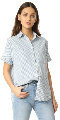 Madewell Courier Shirt $70 thestylecure.com