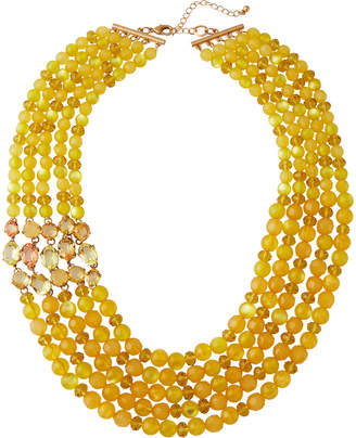 Lydell NYC Multi-Strand Beaded Necklace