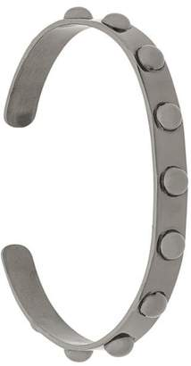 Federica Tosi round stud thin bangle