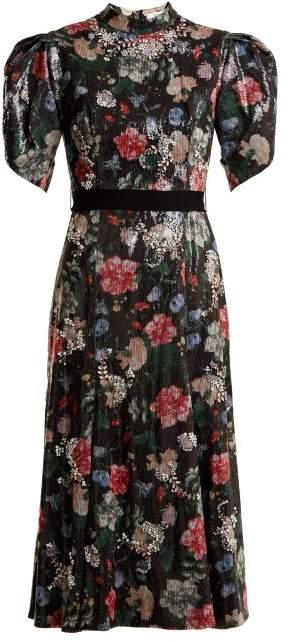 Hael sequin and crystal-embellished dress