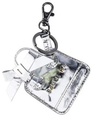 Paule Ka Leather Logo Keychain