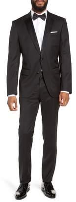 BOSS Halven/Gentry Trim Fit Wool Tuxedo
