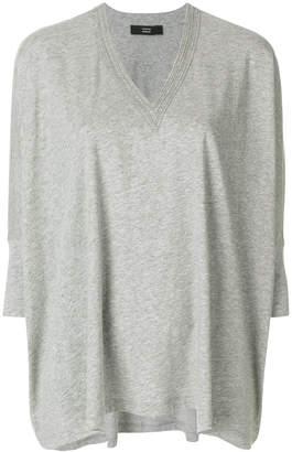 Steffen Schraut v-neck oversized blouse