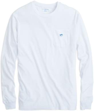 DAY Birger et Mikkelsen Southern Tide Long Sleeve Embroidered Pocket T-Shirt