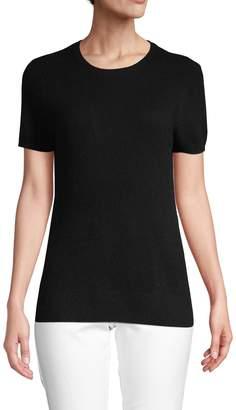 Saks Fifth Avenue Cashmere Short-Sleeve Cashmere Sweater
