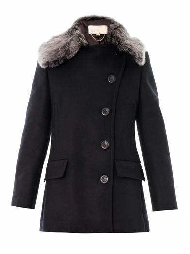 Vanessa Bruno Single-breasted mohair-wool coat