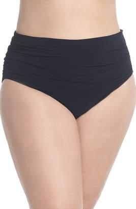 Magicsuit R) Ruched Bikini Bottoms