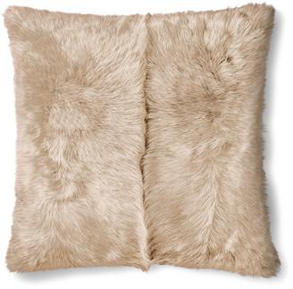 Ralph Lauren Brighton Cream Throw Pillow