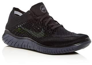Nike Men's Free RN Flyknit Lace Up Sneakers