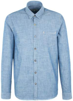 Gibson Men's Denim Style Long Sleeved Shirt