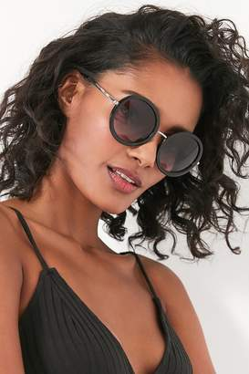 Urban Outfitters Liv Oversized Round Sunglasses