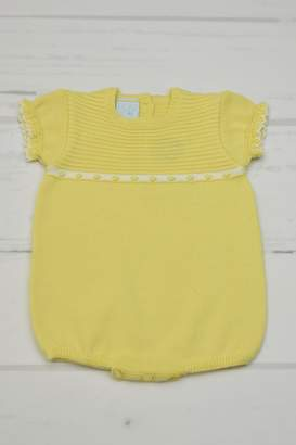 Granlei 1980 Yellow Knitted Onesie