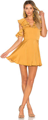 Lovers + Friends x REVOLVE Trophy Dress in Yellow $158 thestylecure.com