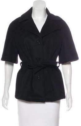 Cacharel Short Sleeve Wool Jacket