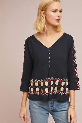 Stella Forest Marianna Embroidered Top