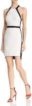 BCBGMAXAZRIA Cutout Color-Block Dress