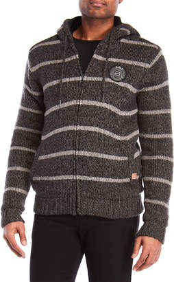 Buffalo David Bitton Fleece-Lined Zip-Up Hoodie