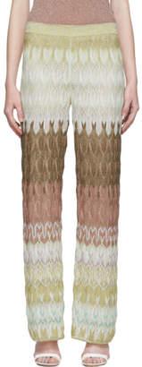 Missoni Multicolor Pull-On Lounge Pants