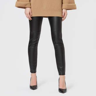 348c22f517d95 MICHAEL Michael Kors Women's Faux Leather Leggings