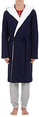 Hamilton and Hare Men's Cotton Hooded Robe