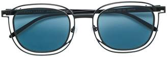 Thierry Lasry Vigilanty double frame round sunglasses