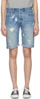 Levi's Levis Blue 501 Cut-Off Shorts