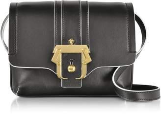 Paula Cademartori Black Leather Gigi Crossbody Bag