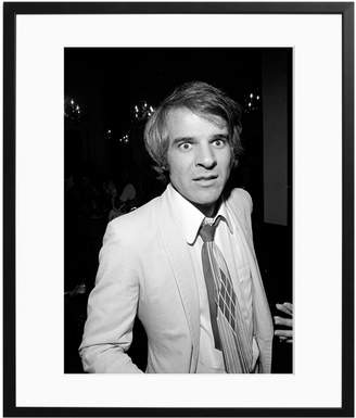 Sonic Editions Steve Martin in NYC by Waring Abbott (Framed)