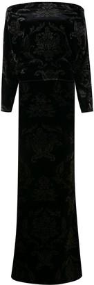 Chiara Boni Le Petite Robe Di velvet maxi dress