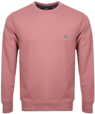 Paul Smith Crew Neck Sweatshirt Pink