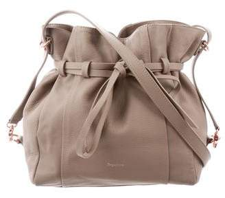 Repetto Leather Bucket Bag