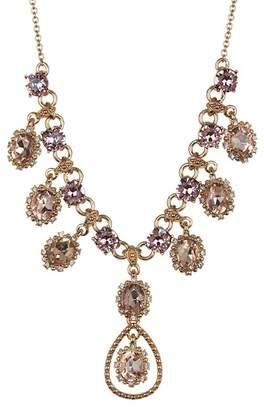 Marchesa Crystal Statement Necklace