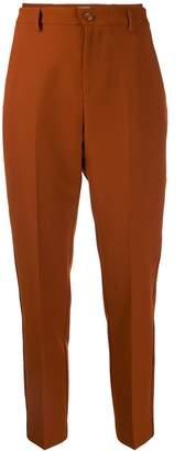 Altea high-waist straight-leg trousers