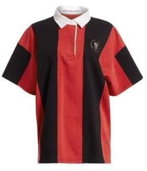 Alexander Wang Asymmetric Cotton Rugby Shirt