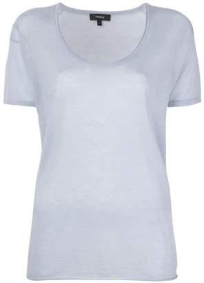 Theory U-neck T-shirt