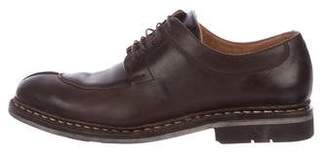 Heschung Leather Round-Toe Oxfords