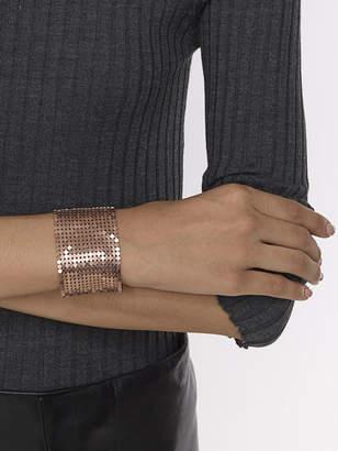 Paco Rabanne Disc detail cuff bracelet